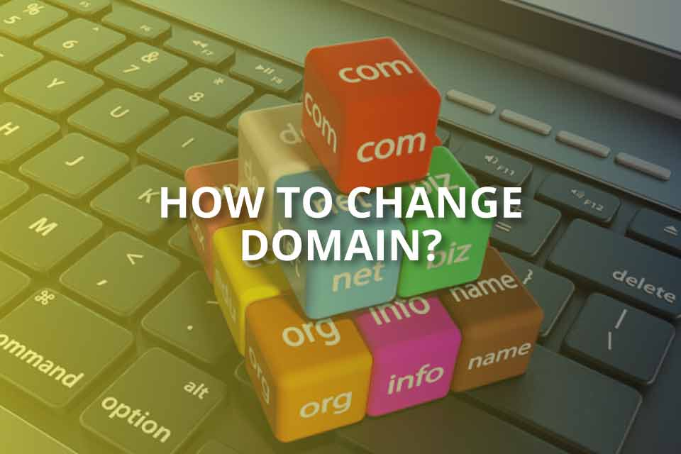 how to change domain